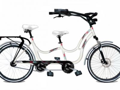 tandem per disabili hugbike biciclette per disabili